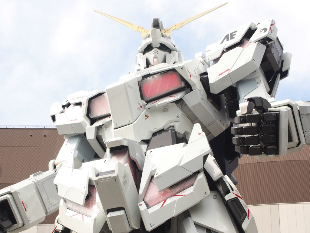 Upper Body of Unicorn Gundam