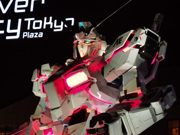 Upper Body of Unicorn Gundam Destroy Mode