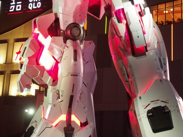 Leg of Unicorn Gundam Destroy Mode