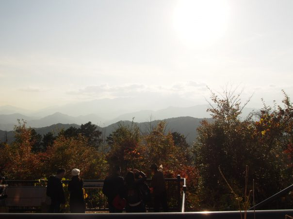 Scenery from the top of Takaosan