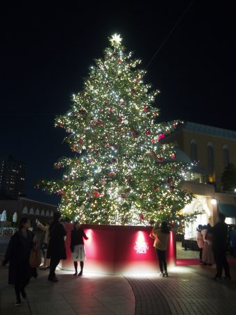 Christmas Tree in Ebisu Garden Place