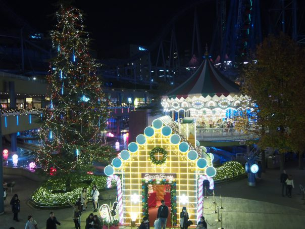 Christmas Illumination of Tokyo Dome City