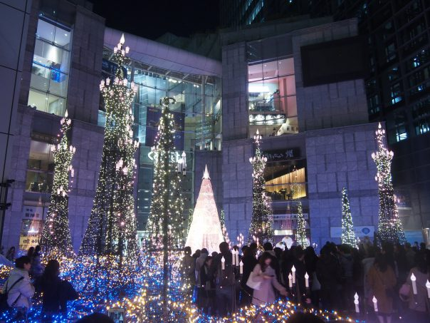 Caretta Illumination 2017 (Shiodome Station)