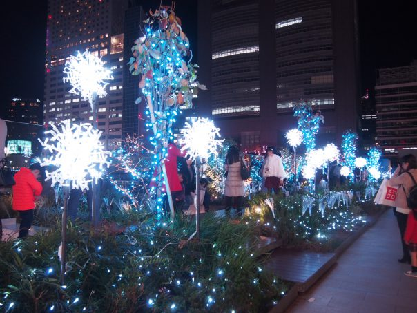 Shinjuku Station Christmas Illumination