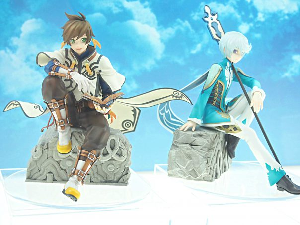 Sorey and Mikleo from Tales of Zestiria