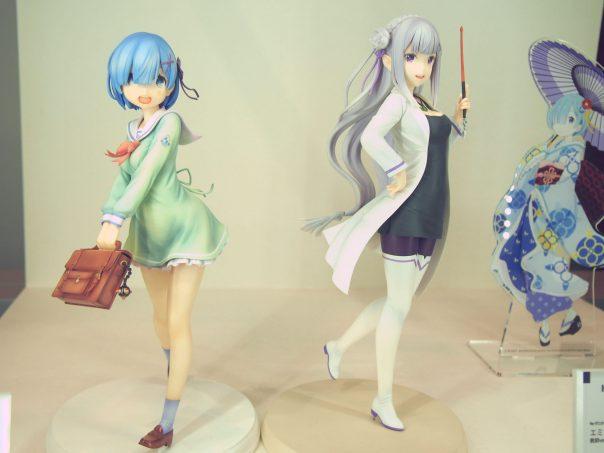 Re:Zero -Starting Life in Another World! Rem school uniform ver. and Emilia teacher ver.