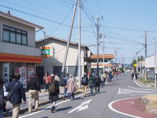 Street from station to Terada Honke