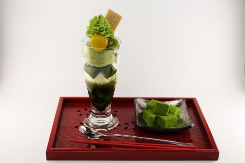Parfait of Morinoen Ningyocho