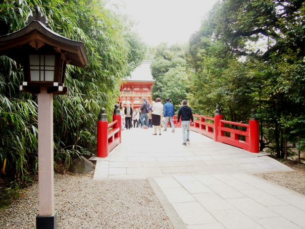 Bridge of Hikawa Shrine