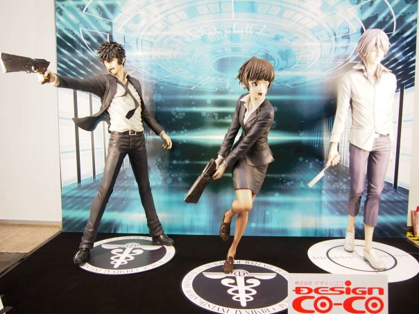 Akane Tsunemori, Shinya Kogami, Shogo Makishima (Psycho-Pass)