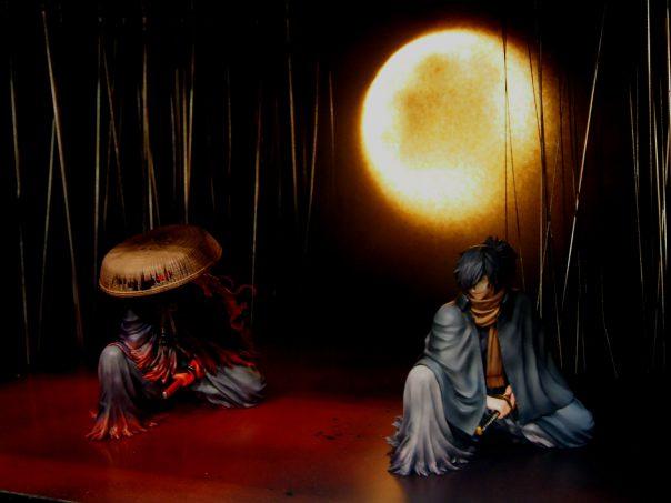 Wokrs of Carve Models (Figure of Izo Okada)