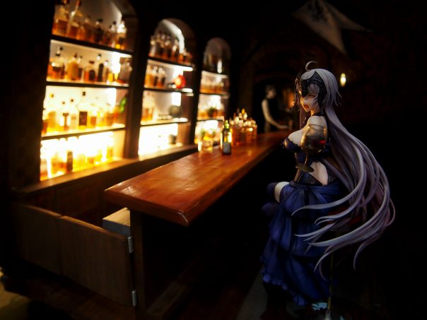 Works of Carve Models (Jeanne Alter Supper of Holy Night)