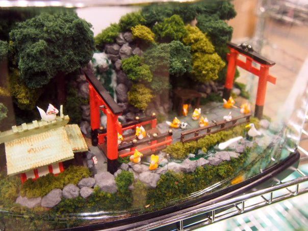 Miniature of Shrine with fox