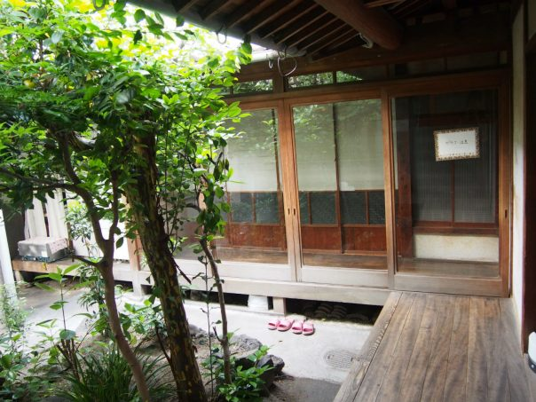 Japanese Terrace and Engawa (Veranda-like Porch)