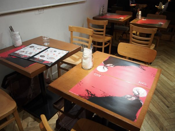 TTable Seat of Tokyo Ghoul:re CAFE