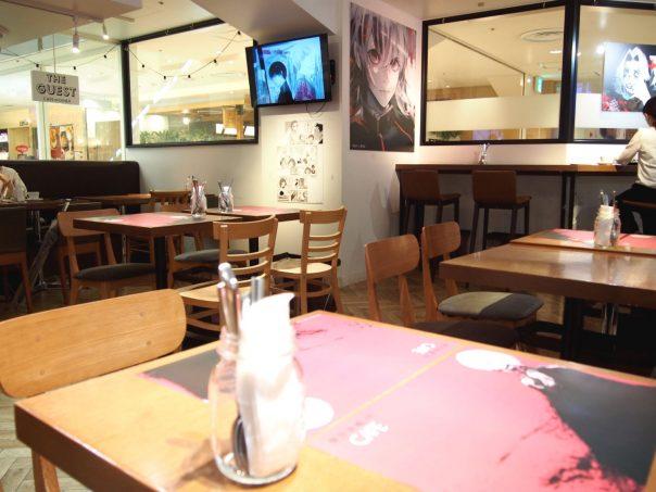 Atmosphere of Tokyo Ghoul:re CAFE